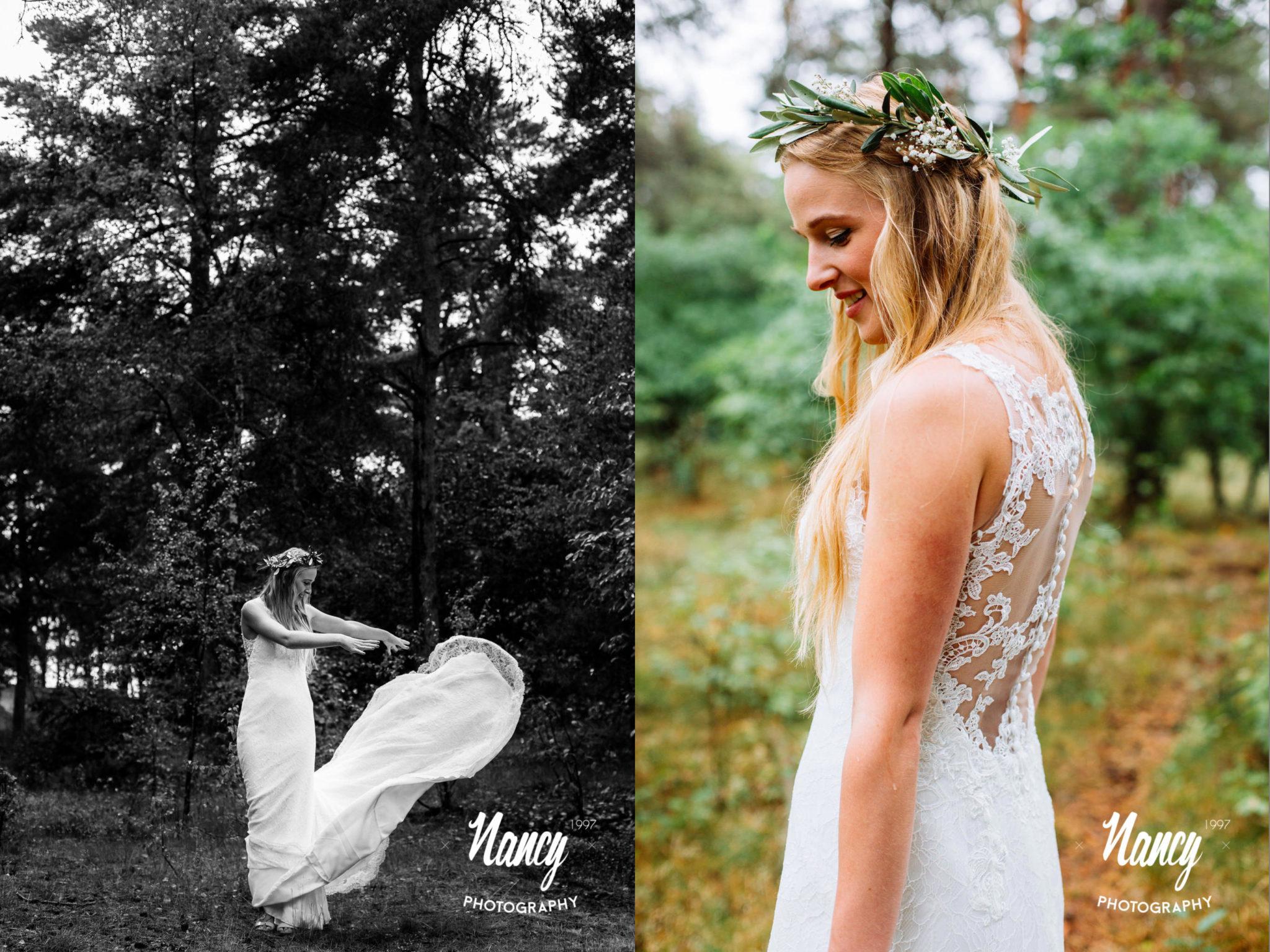 Bruidsfotografie, Bride